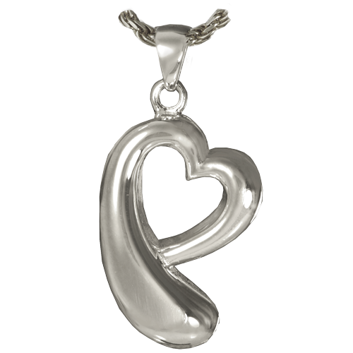 Heartfelt Tear Cremation Pendant