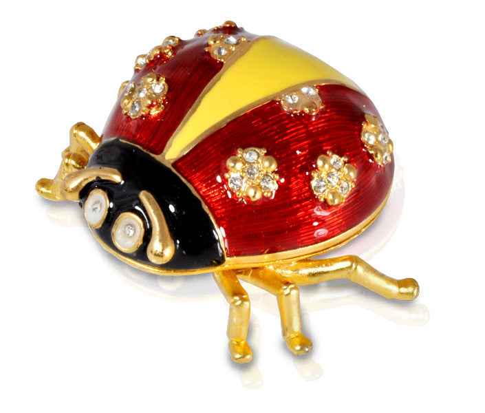 Jewelled Ladybird Keepsake Urn