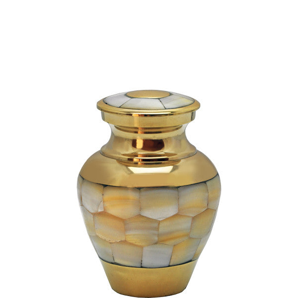 Mother of Pearl Urn Keepsake