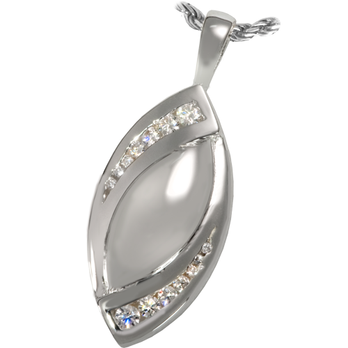 Tear of Love Cremation Pendant
