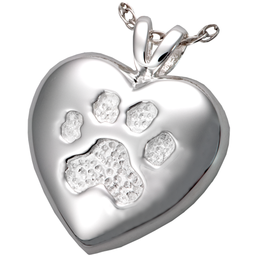 Touch Of Your Paw Cremation Pendant