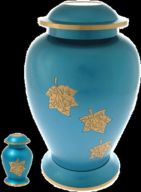 blue-falling-leaves-urn-keepsake-urn-for-ashes-memorial