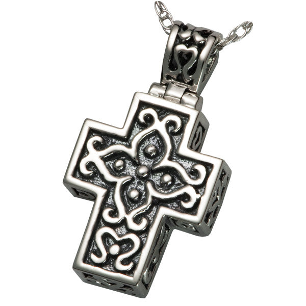 filigree-cross-cremation-pendant-keepsake-jewellery-for-ashes-memorial