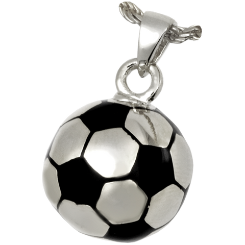 Football Cremation Pendant