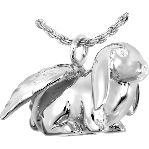 Lop Eared Bunny Cremation Pendant