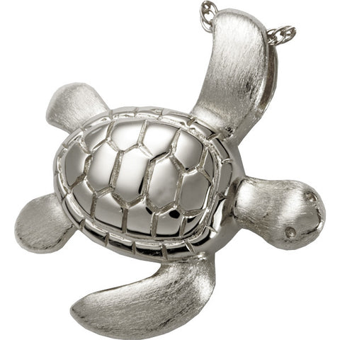 Turtle Cremation Pendant