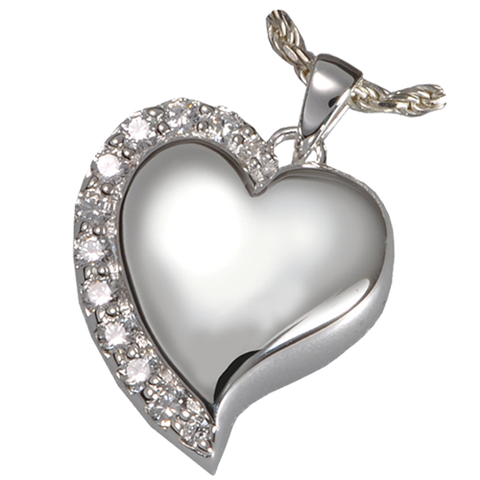Shine Heart Cremation Pendant