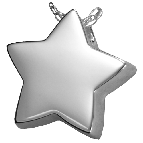 Star Cremation Pendant