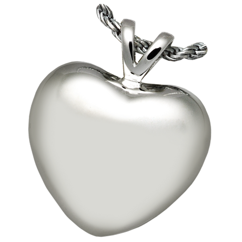 Strong Heart Cremation Pendant