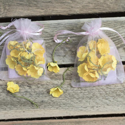 Buttercup party bags