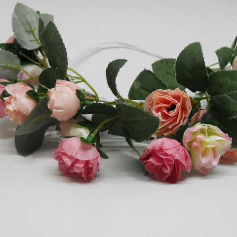 Flower garlands - double rose garland