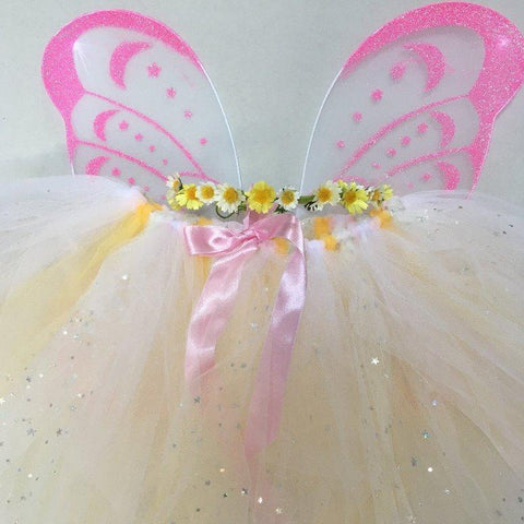 Handmade Flower Fairy Sets - Sparkle Star Daisy - Standard length