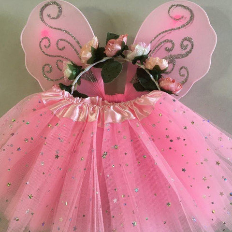 Sparkle Flower Fairy Set for Teddy Bears and Dolls