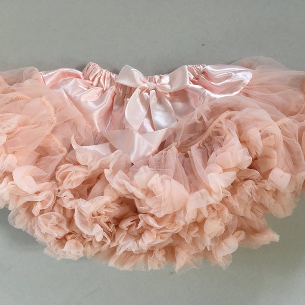 Frothy Tutu soft peach