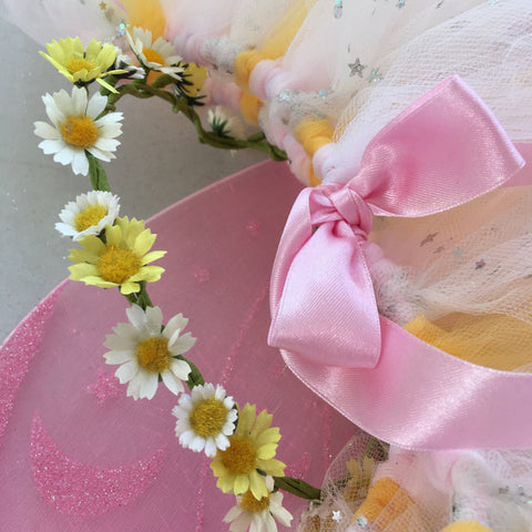 Handmade Flower Fairy Sets - Sparkle Star Daisy - Longer length