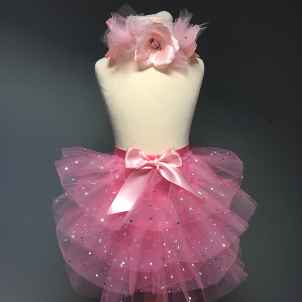 Satin Star Tutu Skirt and matching Alice Band