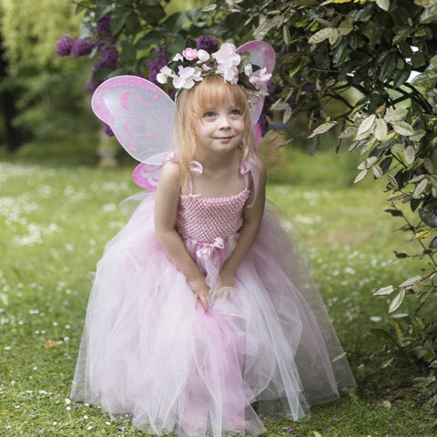 Handmade Flower Fairy Sets - pinks - Longer length