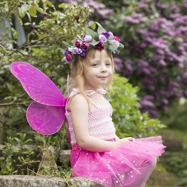 Sparkle flower fairy set