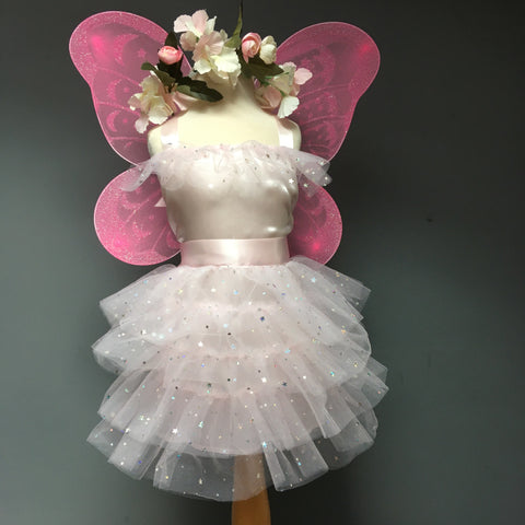 Satin Star Flower Fairy Set - Dress