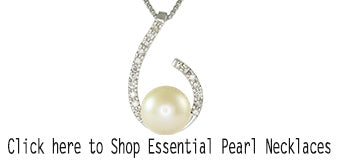 Diamond and Pearl Necklaces