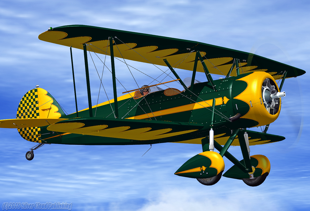 WACO Bi-plane Package for FSX – FSAddon Publishing