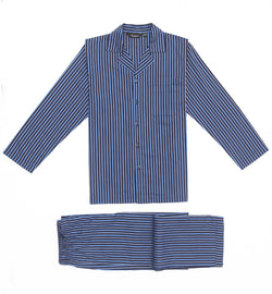 Bombay stripes blue