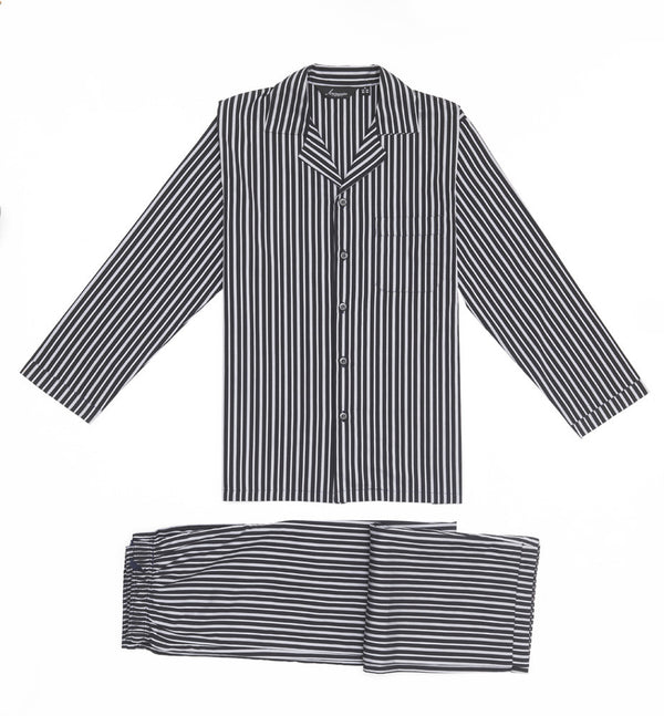 Bombay grey stripes