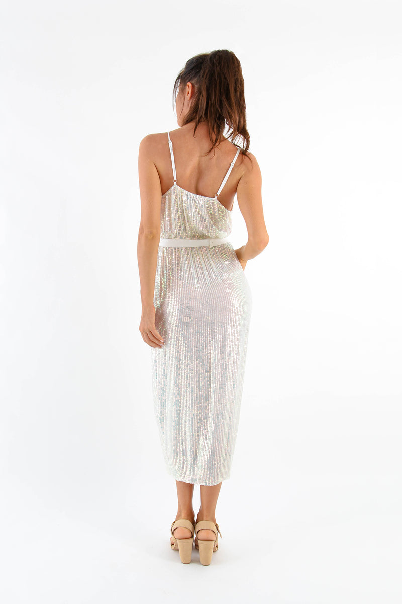 Dress Lotus Sequins