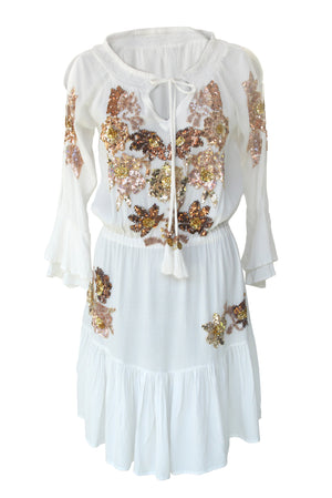 Dress Clover Off-White