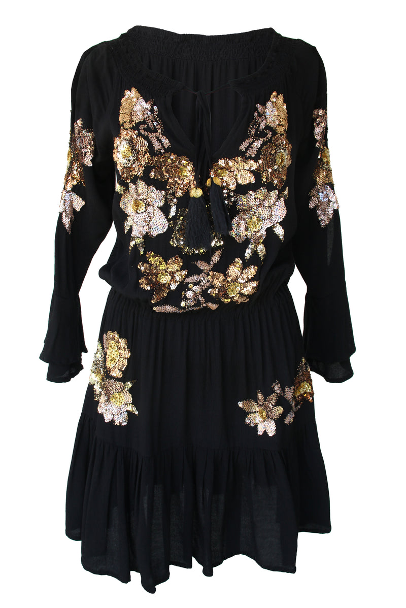 Dress Clover Black
