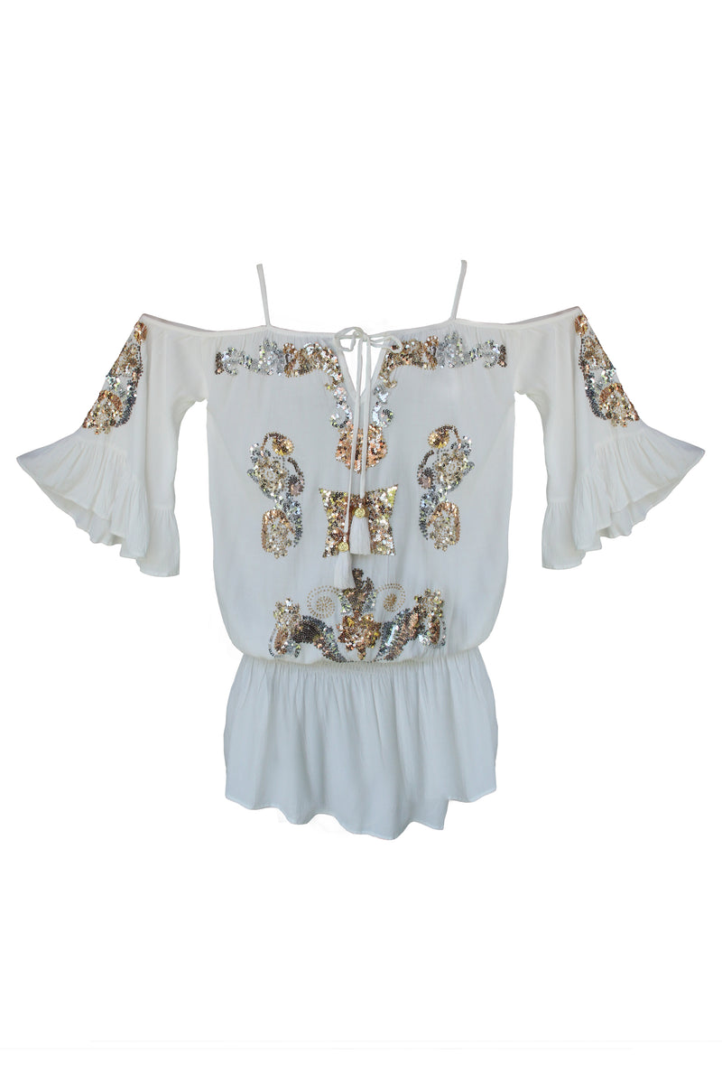 Dress Flower Off-White