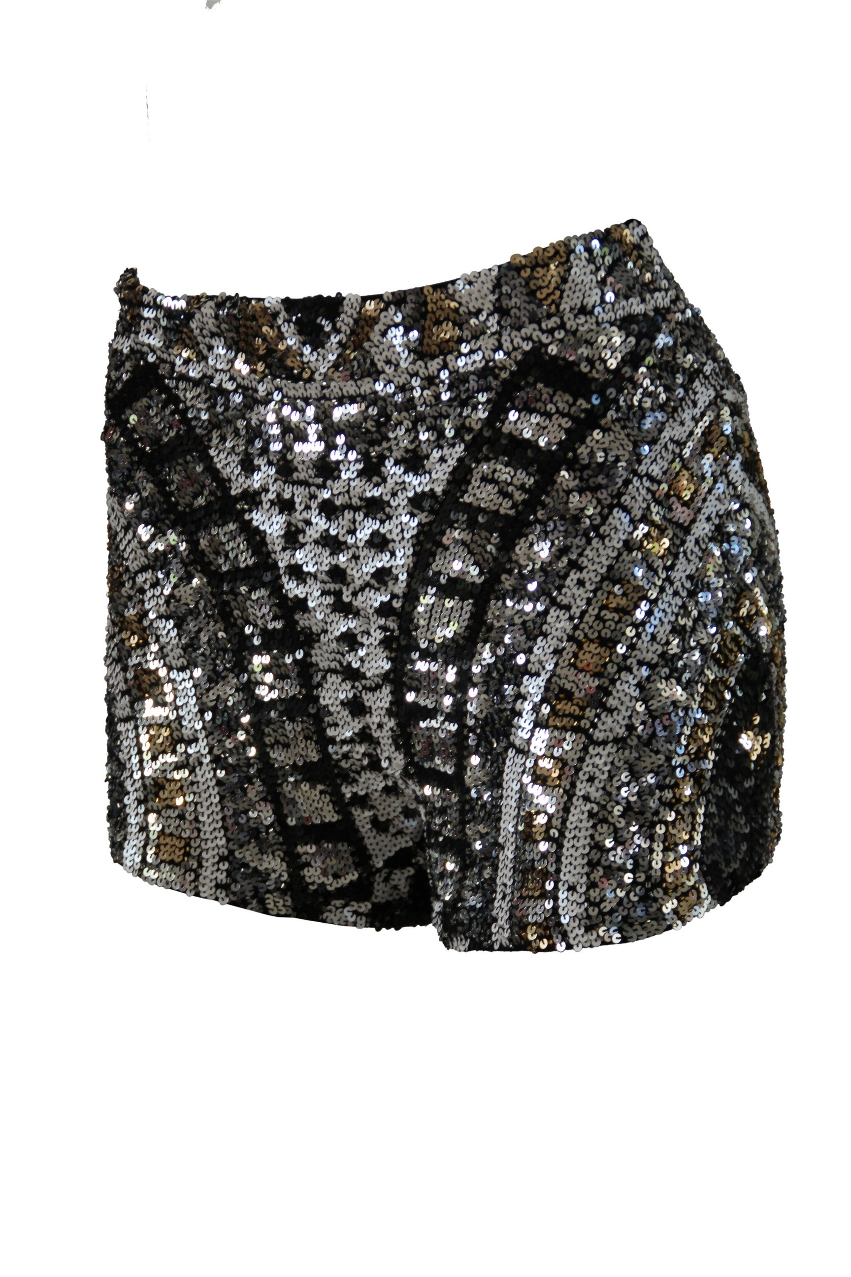 Shorts High Waist Galactica Black