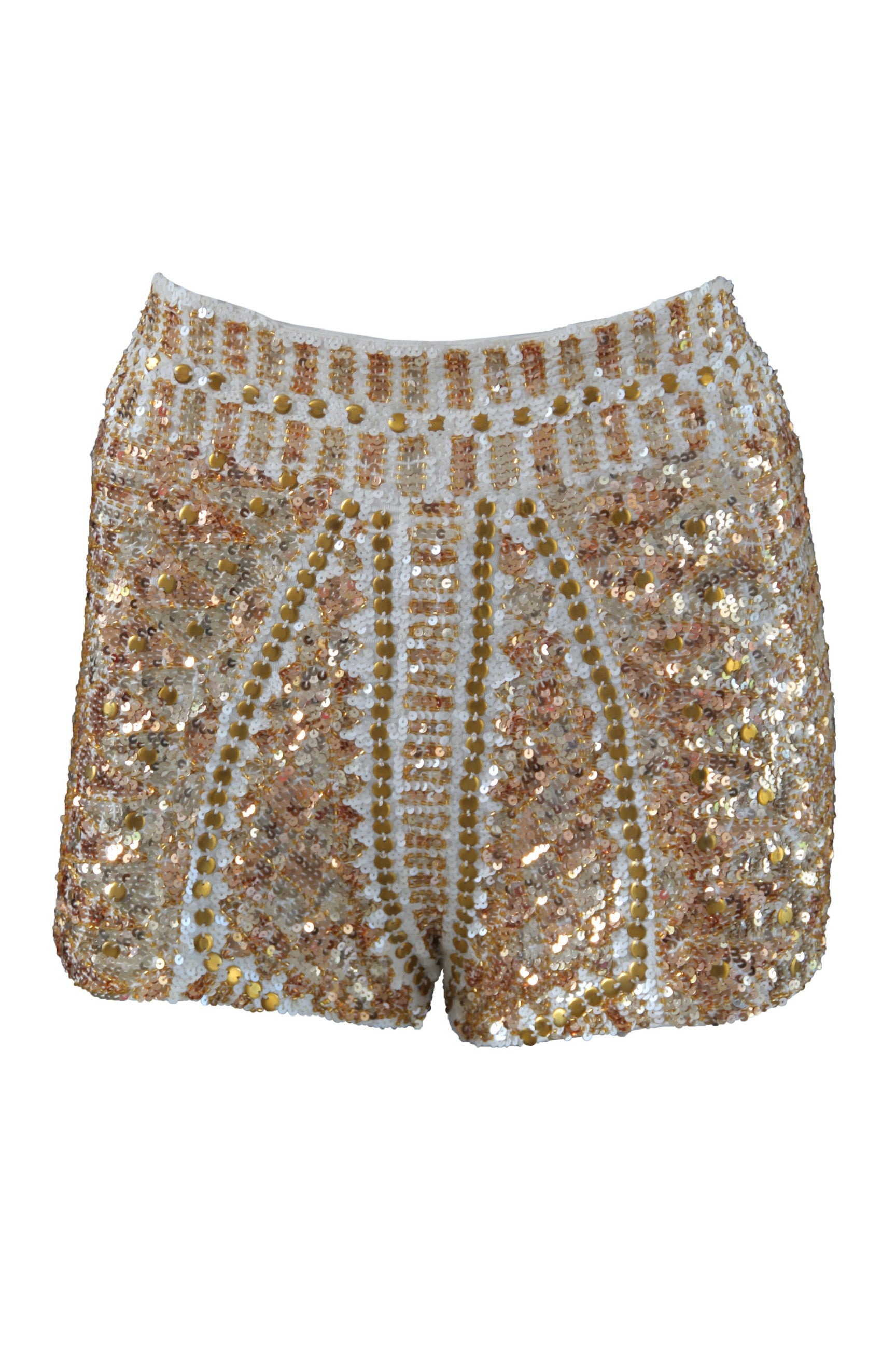 Shorts High Waist Venus Gold