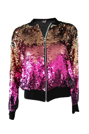 Bomber Ombre Black