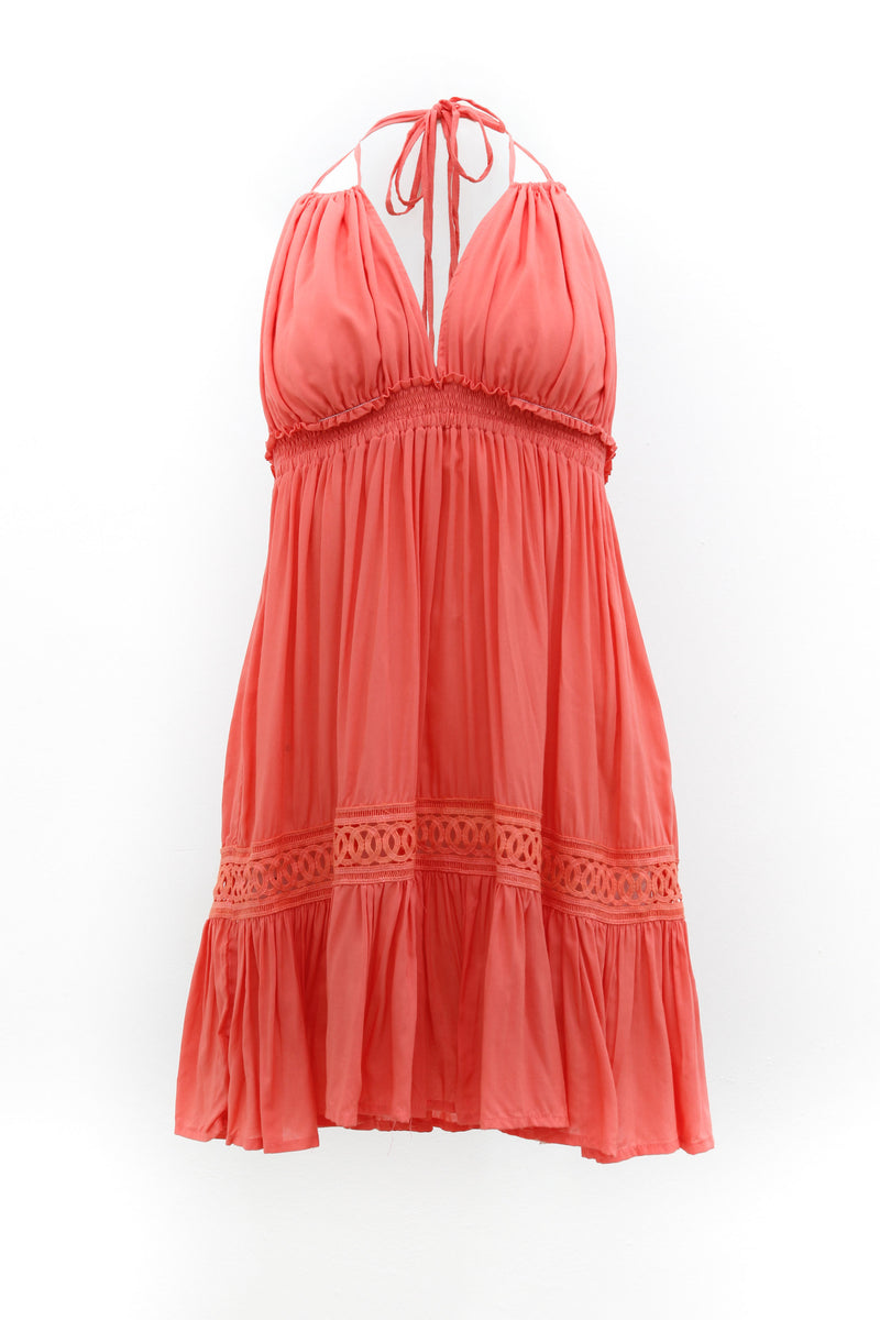 Dress Athena Coral Pink