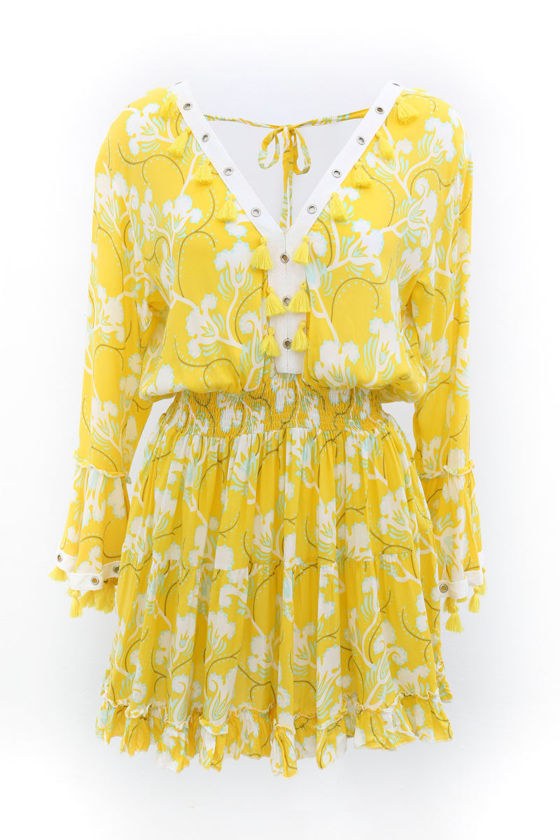 Dress Olivia Bluebell Yellow