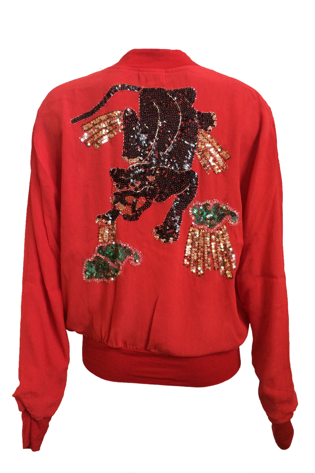 Bomber Panther Red