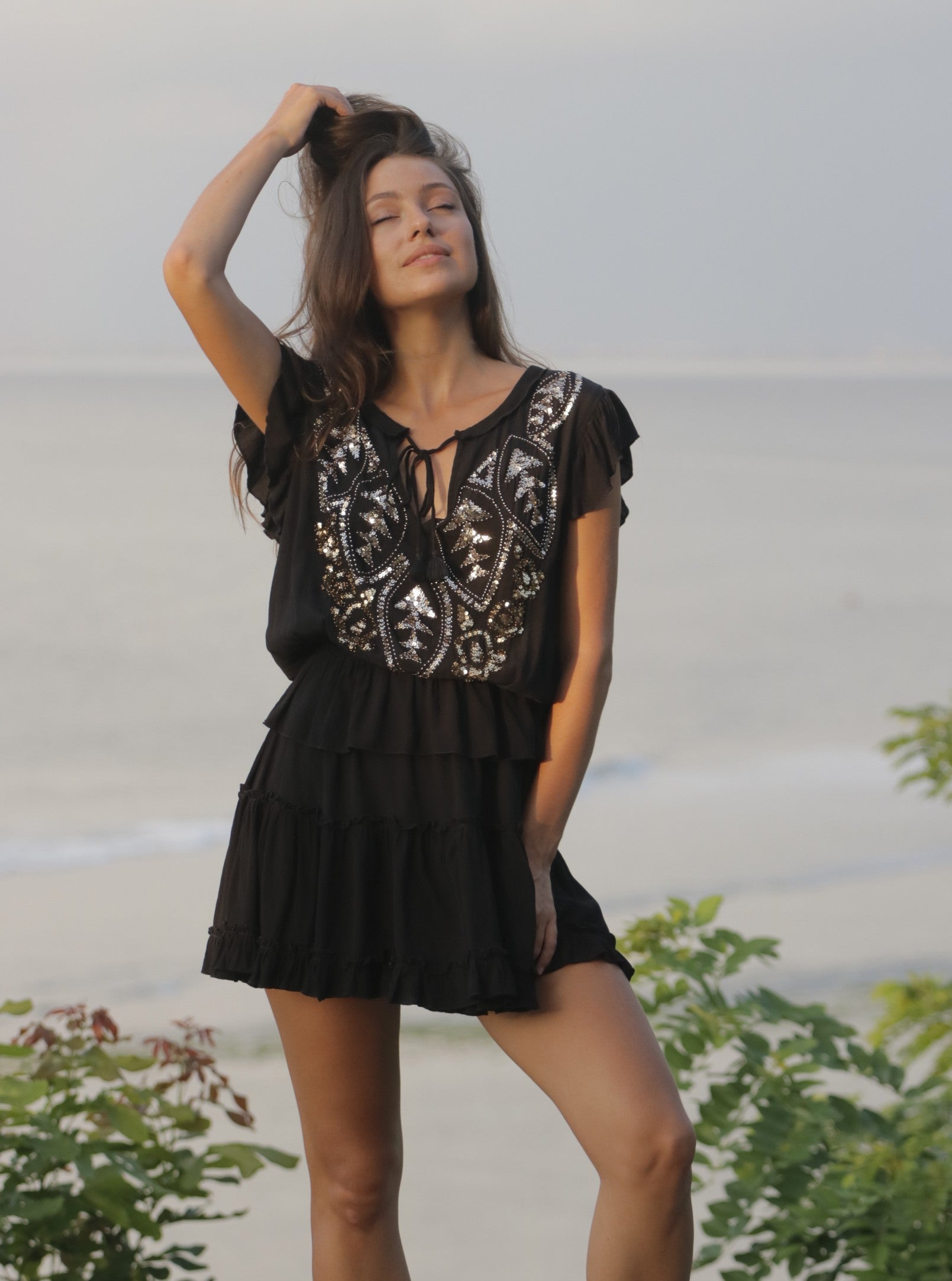 Dress Jonquil Black
