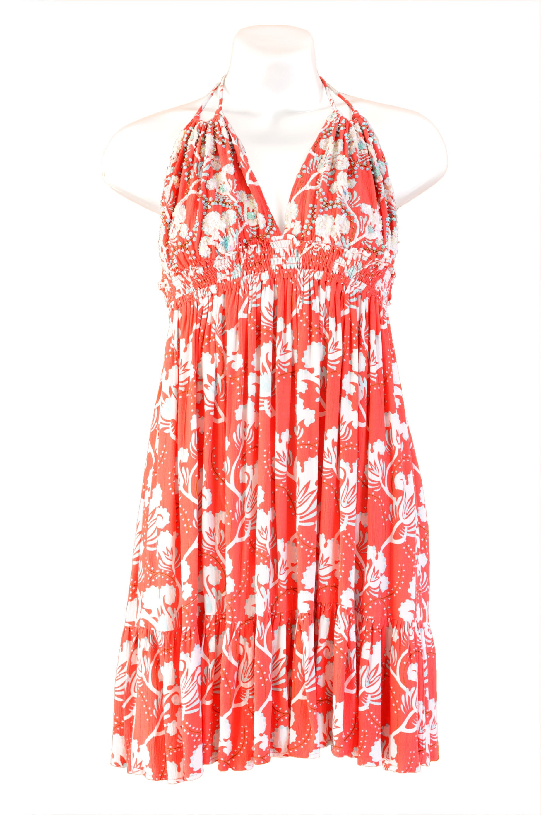 Dress Athena Blue Bell Coral