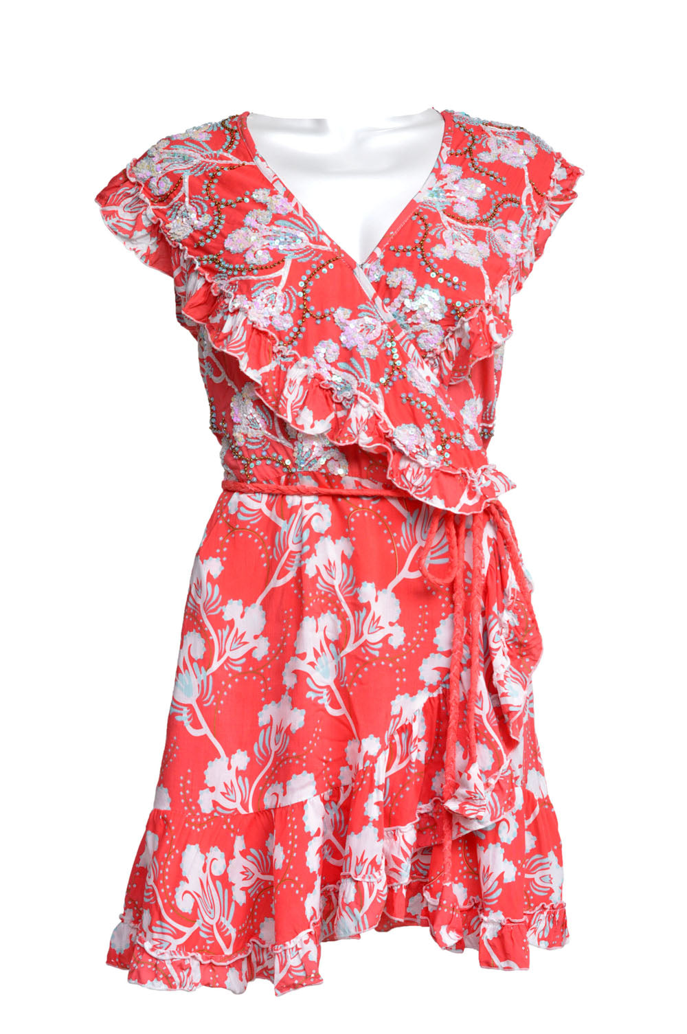 Dress Eva Bluebell Coral