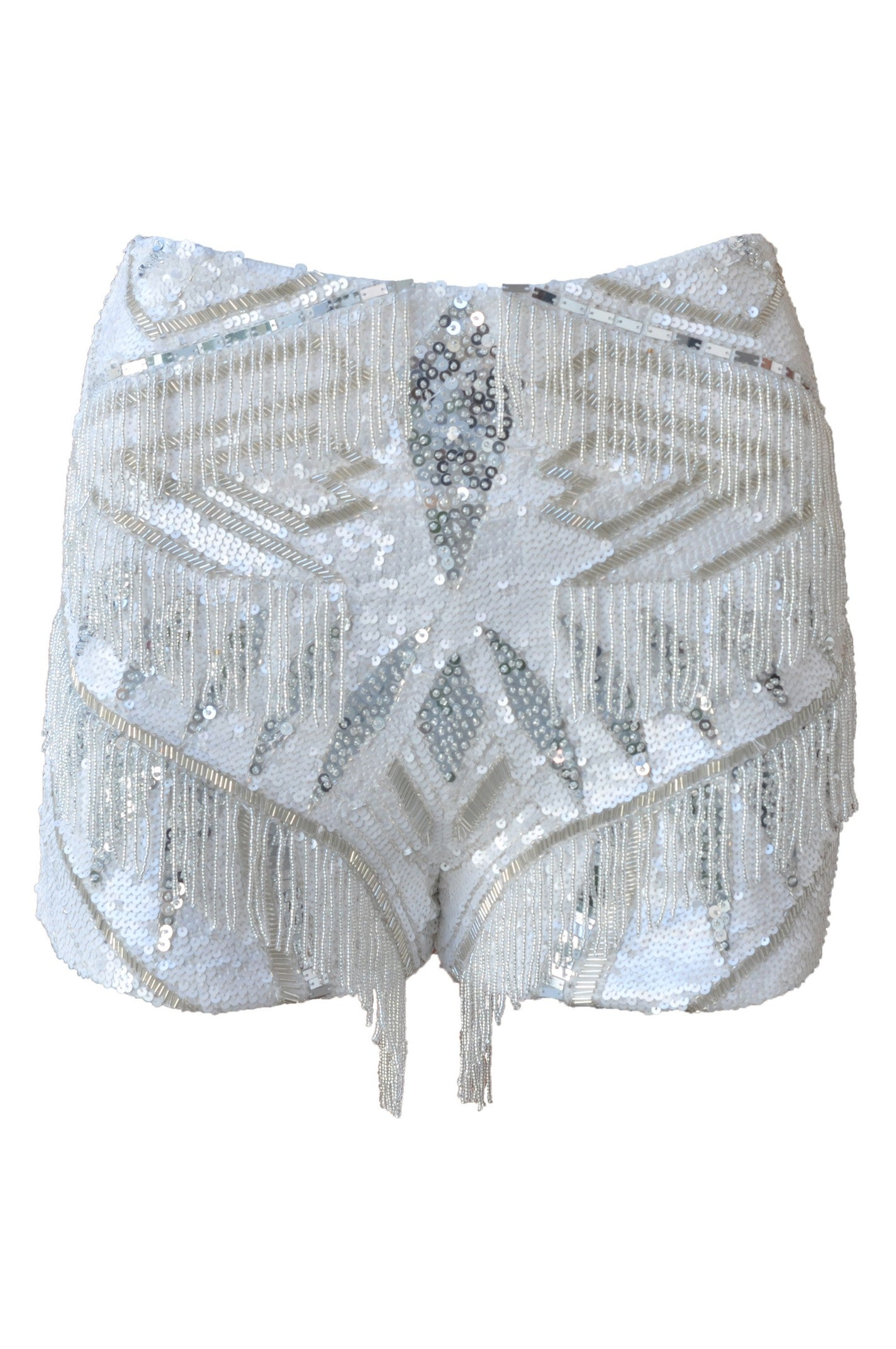 Shorts High Waist Calypso Off-White