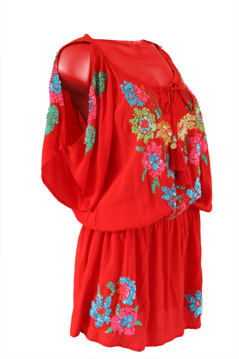 Tunic Blossom Red