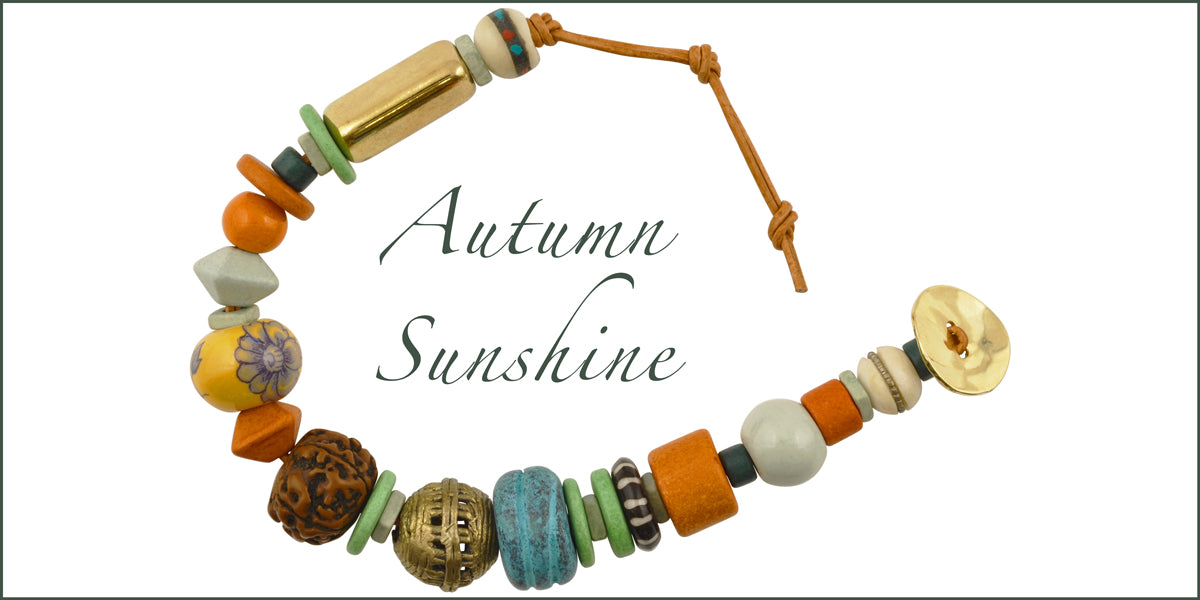 Autumn Sunshine Bracelet Tamara Scott Designs