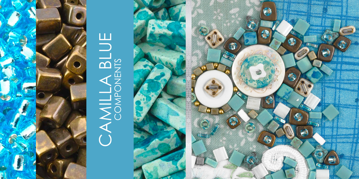 Camilla Blue Components Tamara Scott Designs