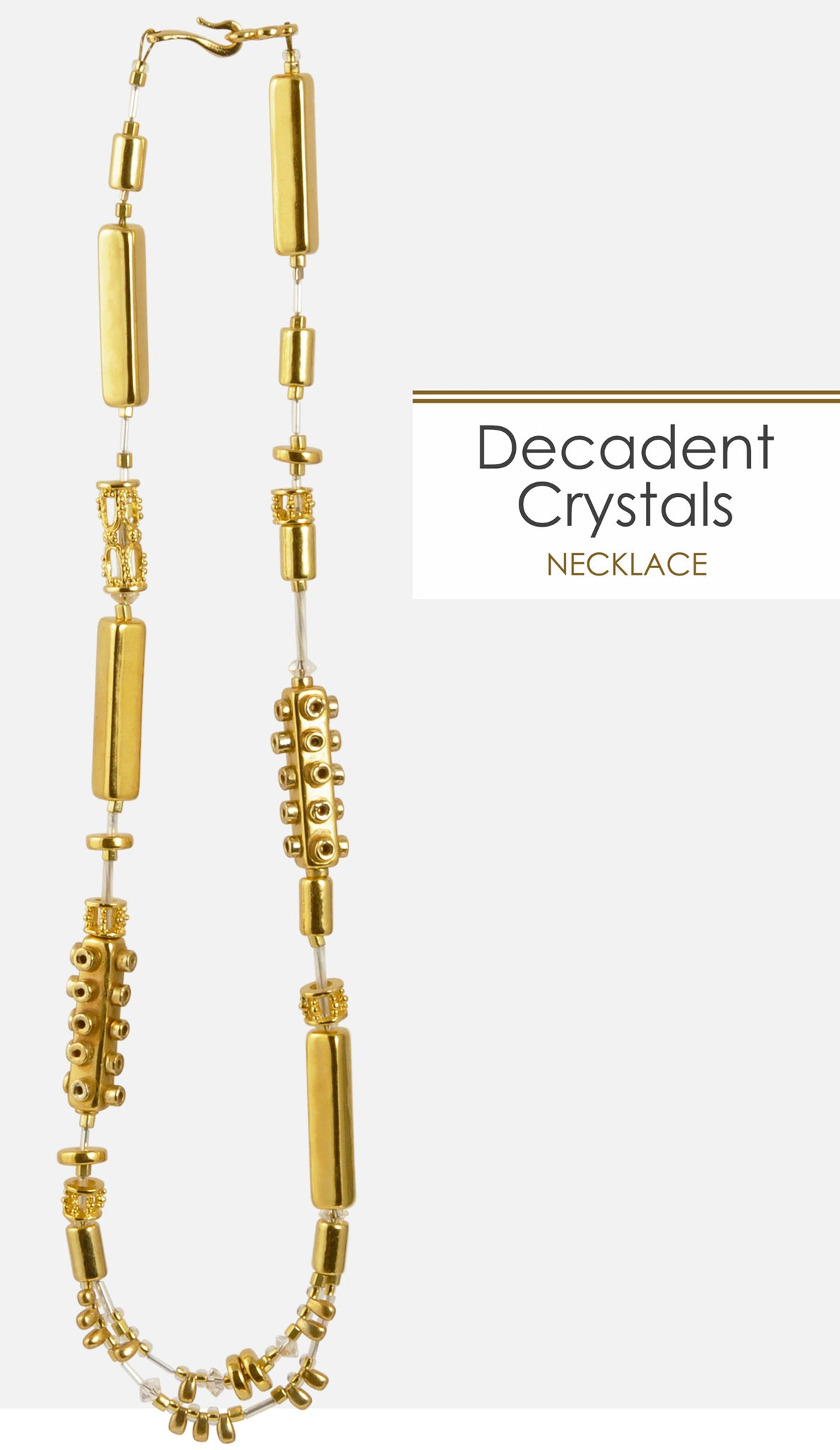 Decadent Crystals Necklace Tamara Scott Designs