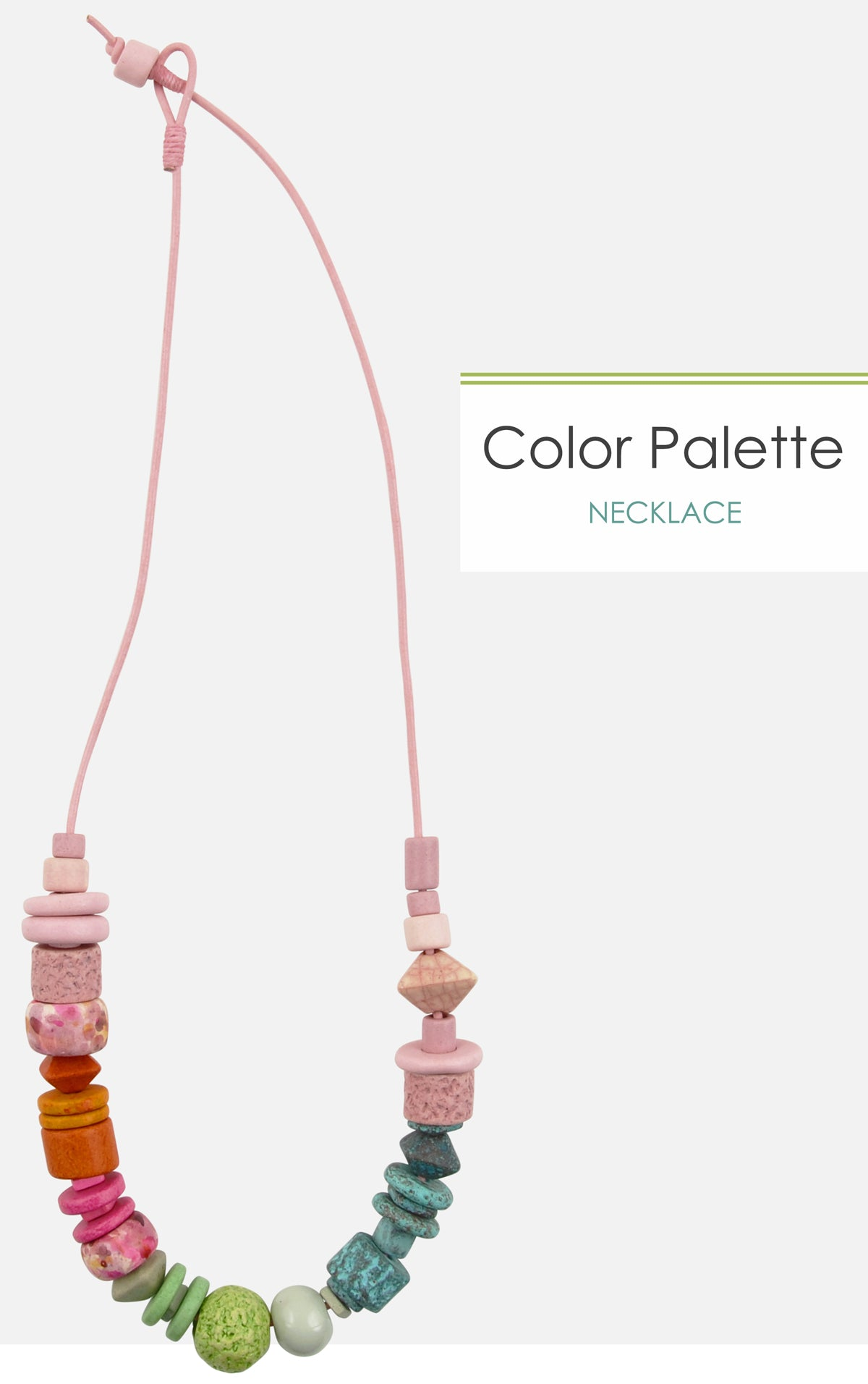 Color Palette Necklace Tamara Scott Designs