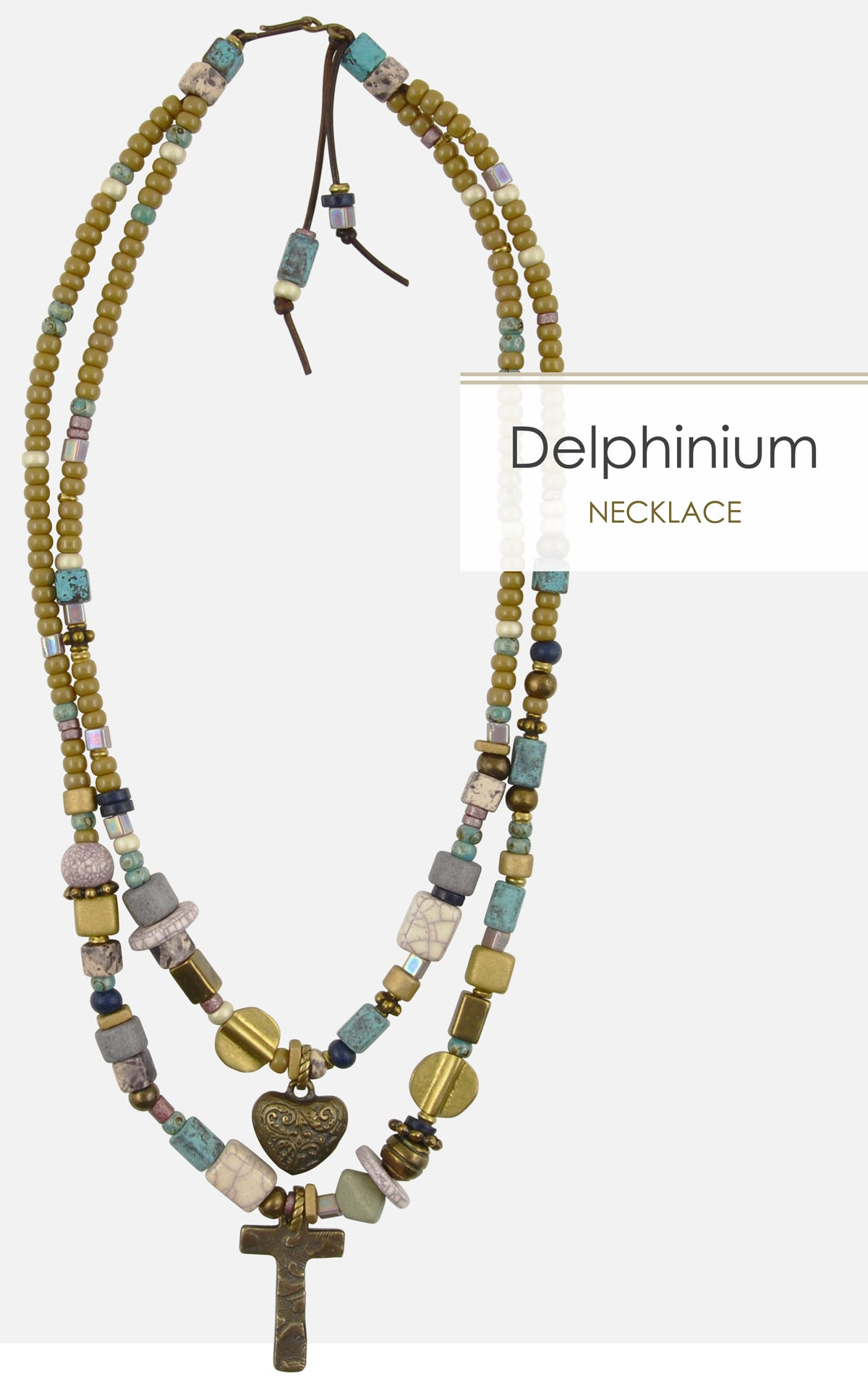 Delphinium Necklace Tamara Scott Designs