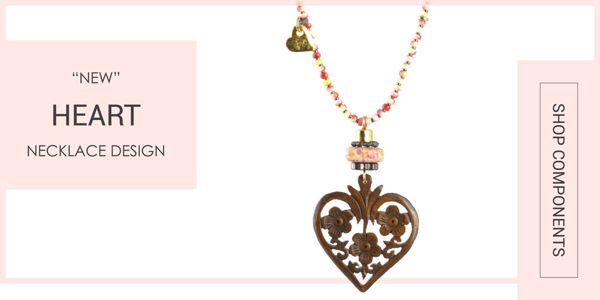 Heart Necklace Blog Tamara Scott Designs