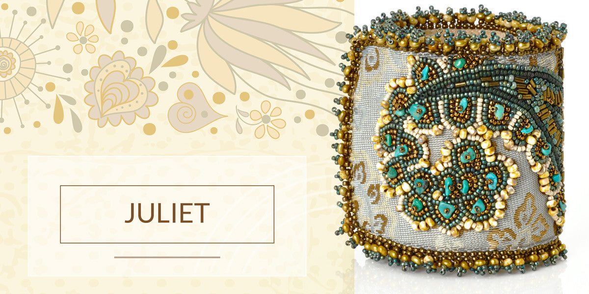 Juliet Bead Embroidery Bracelet Blog Tamara Scott Designs