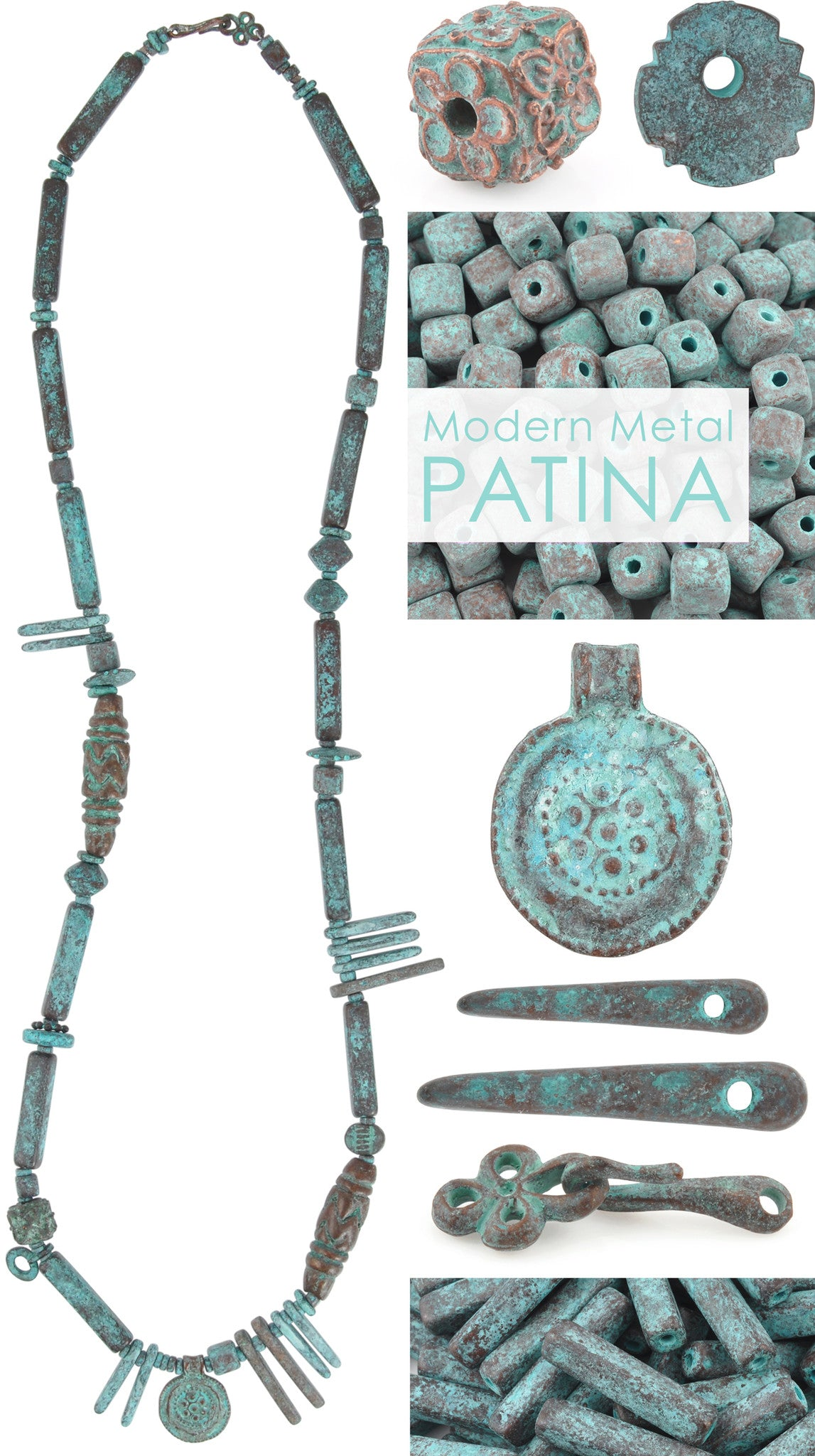 Modern Metal Patina Necklace Blog Tamara Scott Designs